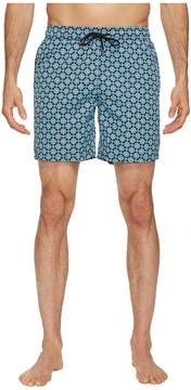 Mr.Swim Mr. Swim Mosaic Dale Swim Trunks Men's Swimwear