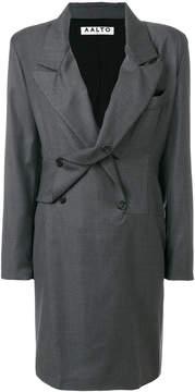 Aalto pinstripe double breasted dress