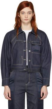 3.1 Phillip Lim Indigo Workwear Utility Denim Jacket