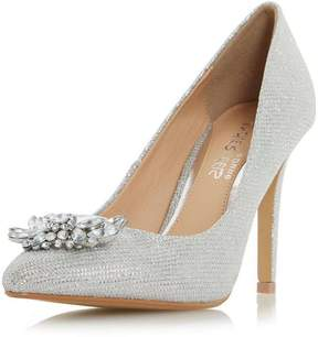 Head Over Heels *Head Over Heels by Dune Silver 'Annette' High Heel Shoes