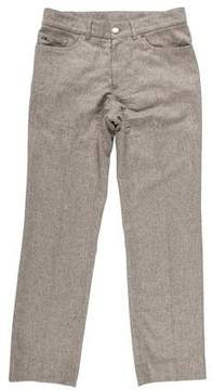 Ralph Lauren Black Label Wool Slim Fit Pants