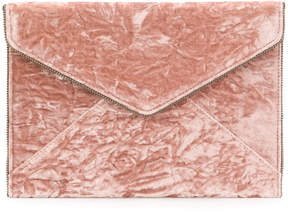 Rebecca Minkoff envelope clutch - BROWN - STYLE