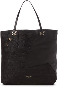 Patrizia Pepe Star-Studded Black Borsa Bag