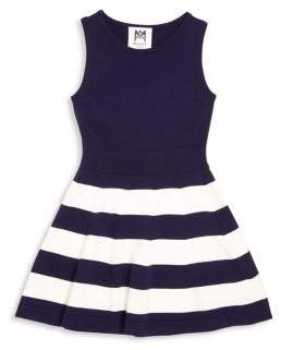 Milly Minis Toddler's, Little Girl's, & Girl's Striped Fit & Flare Dress