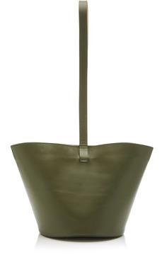 Building Block Short Basket Bag with Puck Wristlet