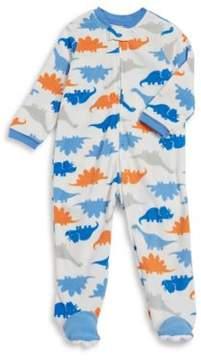 Little Me Baby Boy's Dinosaur-Print Footie