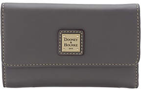 Dooney & Bourke As Is Smooth Leather Flap Wallet - ONE COLOR - STYLE