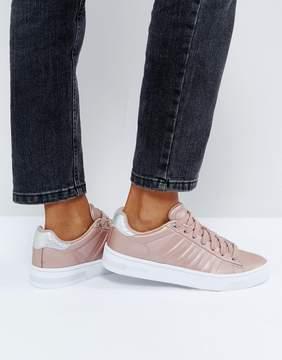 K-Swiss Court Frasco Sneakers In Pink