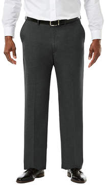 Haggar JM Premium Stretch Sharkskin Classic Fit Flat Front Suit Pants - Big & Tall
