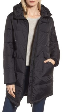 Donna Karan Women's Dkny Water Resistant Insulated Puffer Coat
