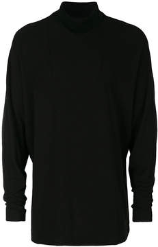 Julius oversized turtleneck sweatshirt