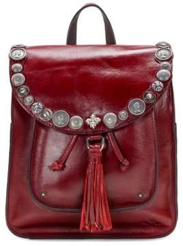 Patricia Nash Jovanna Renaissance Coin Leather Backpack