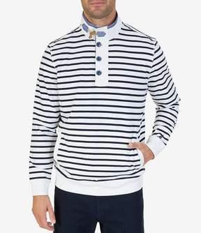 Nautica Long-Sleeve Heavy Jersey Funnel Neck Sweater