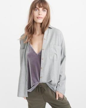 Abercrombie & Fitch Boyfriend Flannel Shirt