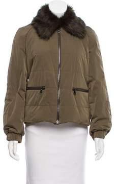 Giamba Casual Zip-Up Coat