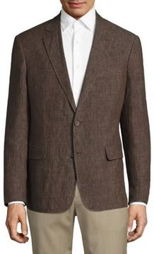 Billy Reid Lexington Linen Blazer