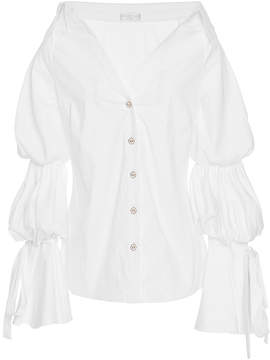 Caroline Constas Off The Shoulder Margaret Blouse