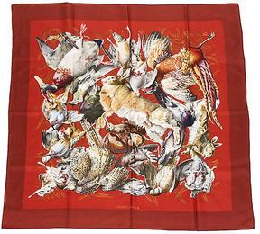 One Kings Lane Vintage Hermès Silk Pheasant Scarf