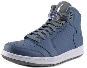 Jordan Prime 5 Men Round Toe Synthetic Blue Basketball Shoe.