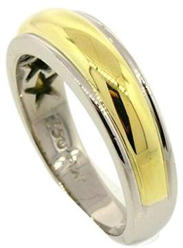 Scott Kay Platinum 18K Yellow Gold Domed Wedding Band Ring