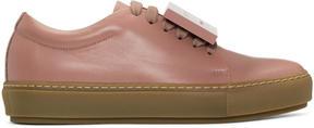 Acne Studios Pink Adriana Turn Up Sneakers