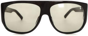 Linda Farrow x raf simons Raf Simons Flat Top Sunglasses