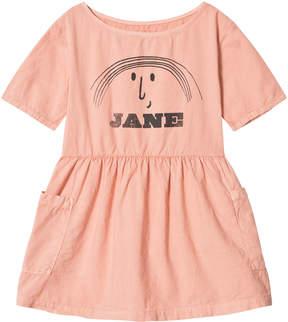 Bobo Choses Lobster Bisque Little Jane Pockets Dress