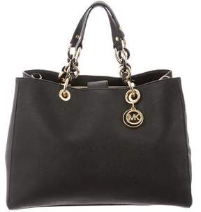 MICHAEL Michael Kors Leather Convertible Satchel
