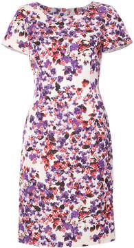 Carolina Herrera fitted floral dress