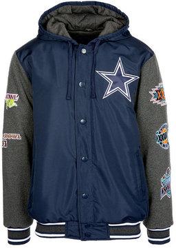 Authentic Nfl Apparel Men's Dallas Cowboys Top Brass Commemorative Jacket