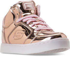 Skechers Big Girls' S Lights: Energy Lights Light-Up High-Top Casual Sneakers from Finish Line