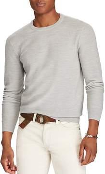 Polo Ralph Lauren Merino-Silk-Cashmere Crewneck Sweater
