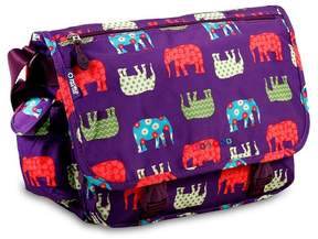 J World J-World Terry Messenger Bag - Elephant