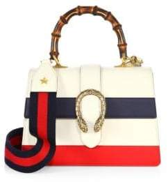 Gucci Dionysus Small Leather Top-Handle Bag - NAVY - STYLE