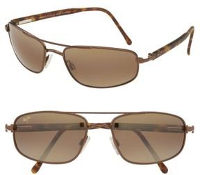 Maui Jim Men's 'Kahuna -Polarizedplus2' 59Mm Sunglasses - Copper