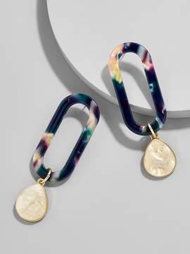 BaubleBar Tereza Hoop Resin Earrings