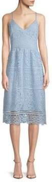 ABS by Allen Schwartz Lace Day Dress