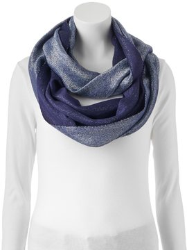 Apt. 9 Two-Tone Shimmer Infinity Scarf