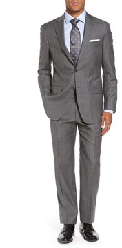 Hart Schaffner Marx Men's Classic Fit Solid Wool Suit