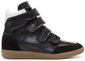 Isabel Marant Black Bilsy New High Sneakers