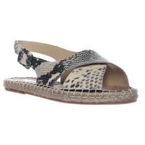 Pour La Victoire Olivia Espadrille Slingback Sandals, Natural.