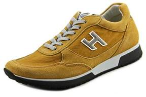 Hogan H198 Md. Sport Round Toe Suede Tennis Shoe.