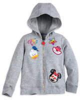 Disney Emoji Hooded Fleece Jacket for Girls