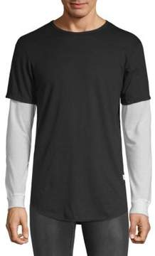 Kinetix Meads Bay Layered Long Sleeve Shirt