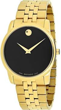 Movado Watches Men's 606997 Museum Classic Stainless Steel Watch, 40mm