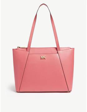 MICHAEL Michael Kors Michael Kors Rose pink Maddie Leather Tote Bag