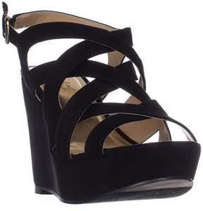Thalia Sodi Womens Maddoraf Peep Toe Casual Strappy Sandals.