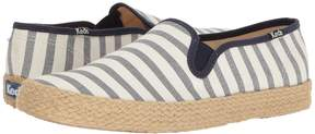 Keds Champion Slip Breton Stripe Jute Women's Slip on Shoes