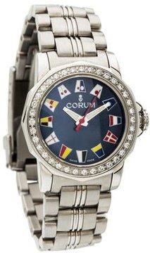 Corum Diamond Admiral's Cup Watch