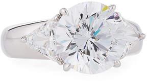 FANTASIA Mixed-Cut Crystal Wide-Shank Ring